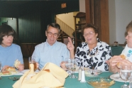 Jack & Joan Iversen - Making Her Point at Her 70th birthday party