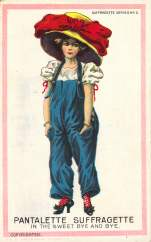 Pantalette Suffragette in the Sweet Bye and Bye
