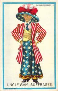 Uncle Sam Suffragee