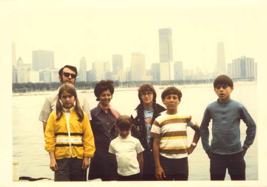 Pictured in front of Lake Michigan, with the Chicago Skyline in the background.