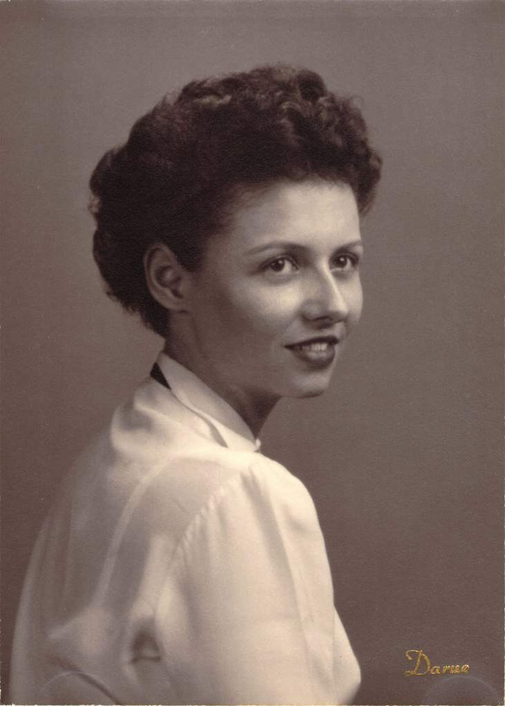 Joan Iversen high school portrait photo