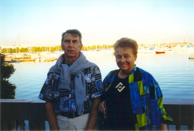 Jack and Joan Iversen in the Florida Keys, 2001