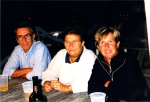 Jack joan and friend, Inga, in Florida Keys