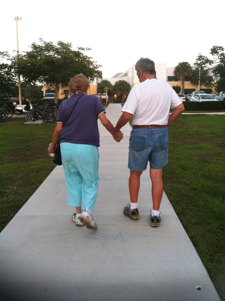Joan and Jack, Winter 2012, Florida Keys
